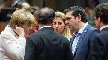 Саммит Еврогруппы в Брюсселе 12.07.2015