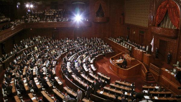 Пленарное заседание парламента Японии в Токио. Архивное фото