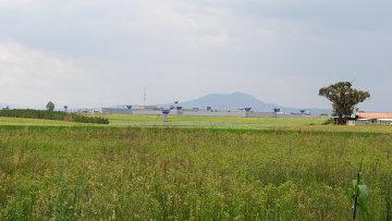 Вид на тюрьму строго режима Альтиплано. Архивное фото