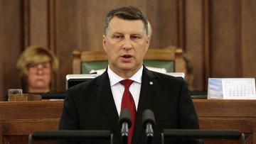 Президент Латвии Раймонд Вейонис, архивное фото
