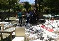 На месте взрыва в турецком городе Суруч