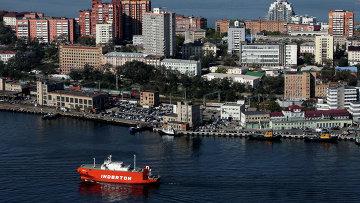 Виды Владивостока. Архивное фото