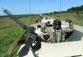 """Американский военнослужащий во время военных учений """"Репид Трайдент - 2015"""" в Львовской области"""