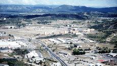 Военная база США в заливе Гуантанамо, Куба. Архивное фото