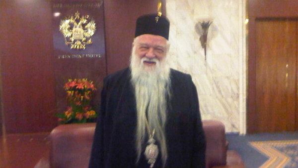 Митрополит Калавритский и Эгиалийский Амвросий (Элладская православная церковь)