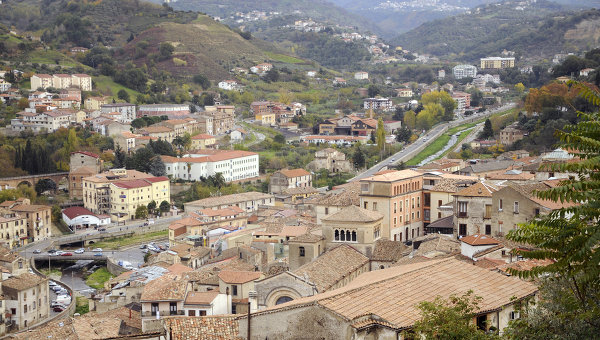 Город Козенца, Италия. Архивное фото