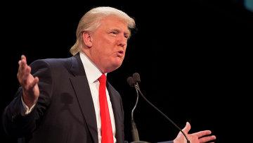 Потенциальный кандидат на пост президента США от Республиканской партии Дональд Трамп. Архивное фото