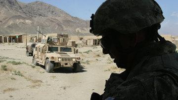Американские солдаты к северу от Кабула, Афганистан. Архивное фото