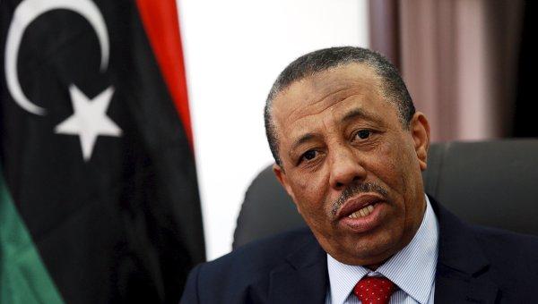 Назначенный ливийским парламентом в Тобруке премьер-министр Абдалла ат-Тани