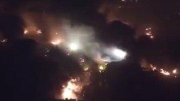 Взрыв в Китае. Кадр из видео.