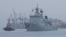 Морское взаимодействие-2015: как во Владивостоке встретили корабли ВМС КНР