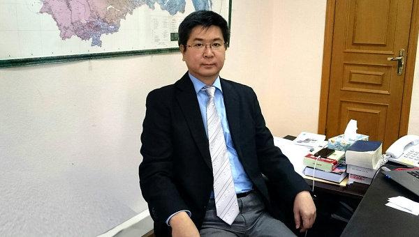 Глава представительства Японской ассоциации по торговле с Россией и новыми независимыми государствами (РОТОБО) в РФ Накаи Такафуми. Архивное фото