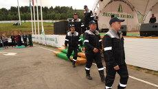 Чемпионат лесорубов в Архангельской области