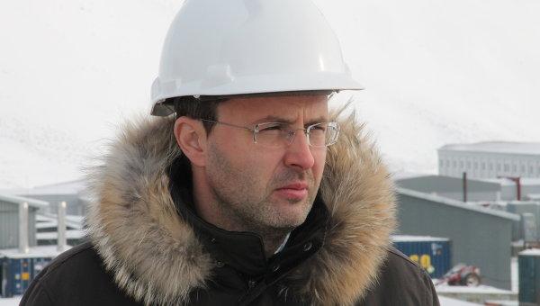 Губернатор Чукотского АО Роман Копин