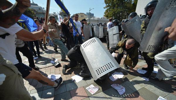 Протестные акции в Киеве. Архив