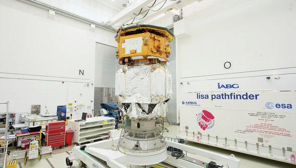 Космический аппарат Европейского космического агентства (ЕКА) LISA Pathfinder