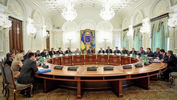 Заседание СНБО Украины в Киеве. Архивное фото