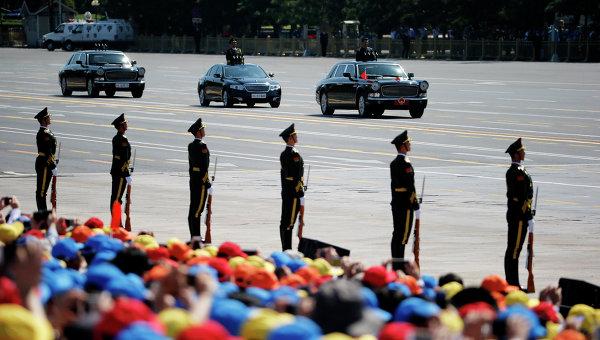Военный парад в честь 70-летия Победы в Пекине. Архивное фото