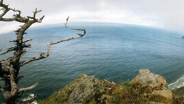Вид на побережье острова Большой Шантар. Архивное фото