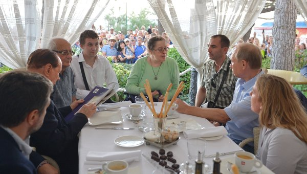 Рабочая поездка президента РФ В.Путина в Крымский федеральный округ