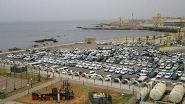 Вид города Триполи, Ливия. Архивное фото
