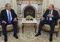 Встреча президента РФ В.Путина с премьер-министром Израиля Б.Нетаньяху