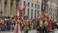 Средневековые рыцари, шуты и пивовары: в Мюнхене стартовал Октоберфест