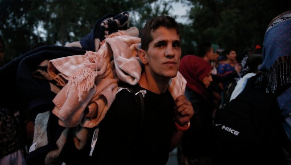 Ситуация на греко-турецкой границе. Архивное фото