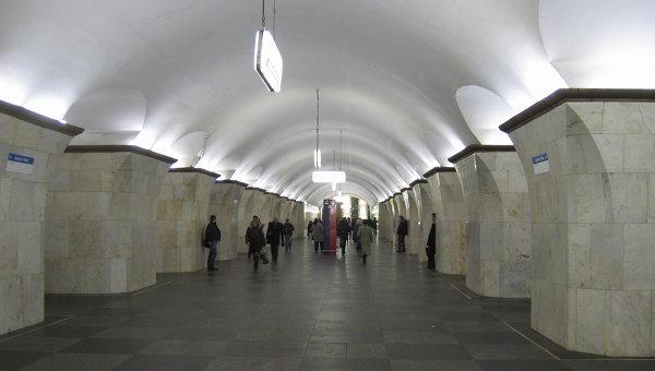 Станция Проспект Мира Калужско-Рижской линии Московского метрополитена
