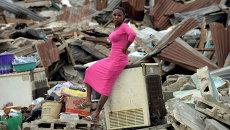 Нигерийская женщина.Архивное фото