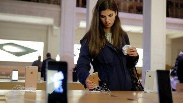 Начало продаж нового iPhone в Франции. Архивное фото