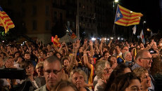 Выборы в Каталонии: ликование в Барселоне и акция протеста в Мадриде