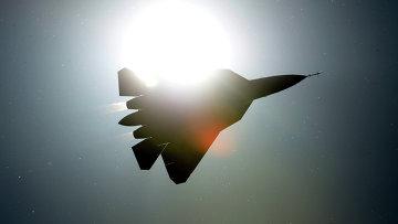 Истребитель ПАК ФА Т-50. Архивное фото