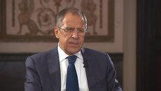 Лавров рассказал об общих целях России и США на Ближнем Востоке