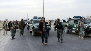 Сотрудники сил безопасности Афганистана. Архивное фото