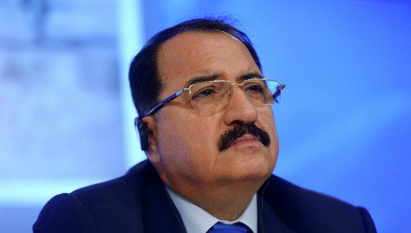 Посол Сирийской Арабской Республики в Российской Федерации Рияд Хаддад. Архивное фото