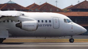 Пассажирский самолет индонезийской авиакомпании Aviastar. Архивное фото