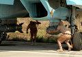 """Российские самолеты на базе """"Хмеймим"""" в Сирии"""
