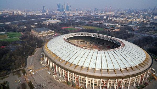 Внешний вид стадиона Лужники. Архивное фото