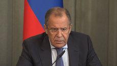 Лавров о российско-американских контактах по военным операциям в Сирии