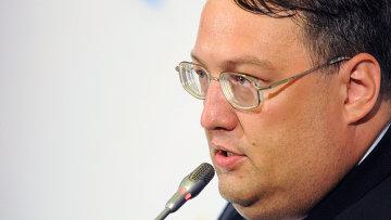 Советник министра внутренних дел Украины Антон Геращенко, архивное фото