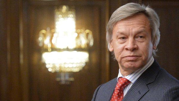 Председатель комитета Государственной Думы РФ по международным делам Алексей Пушков. Архив