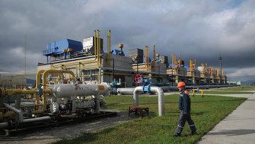 Высокогорная газокомпрессорная станция Воловец в Закарпатской области, Украина