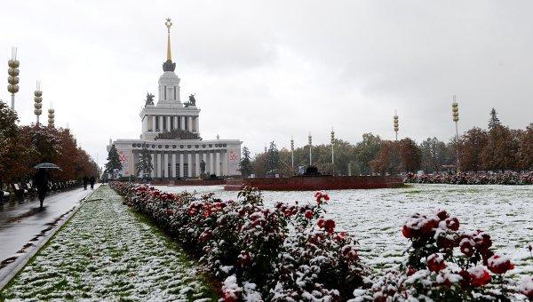 Павильон Центральный на ВДНХ в Москве. Архивное фото