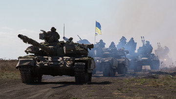Танки украинской армии. Архивное фото