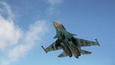 Российский бомбардировщик в Сирии. Архивное фото