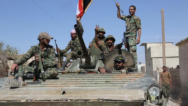 Десятки боевиков уничтожены и взяты в плен при взятии сирийской армией города Атшан