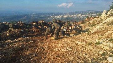 Военнослужащие сирийской армии в провинции Латакия. Архивное фото