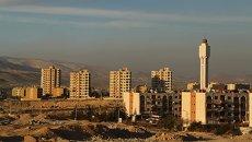 Вид на жилые дома города Дамаска. Архивное фото