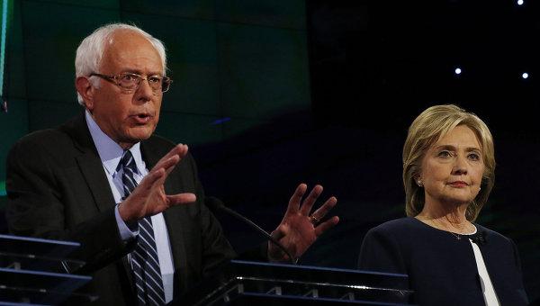 Кандидаты в президенты от Демократической партии США Берни Сандерс. Архивное фото